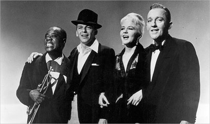 Louis, Sinatra, Peggy, and Bing